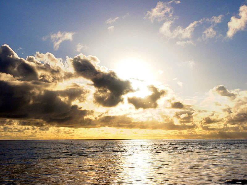 Malediven Sunset Inselnauten