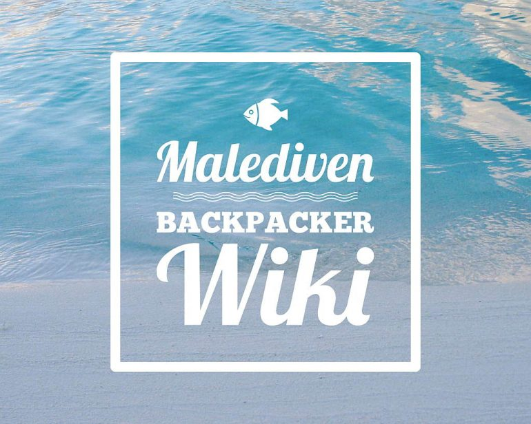 Malediven Wiki Backpacker