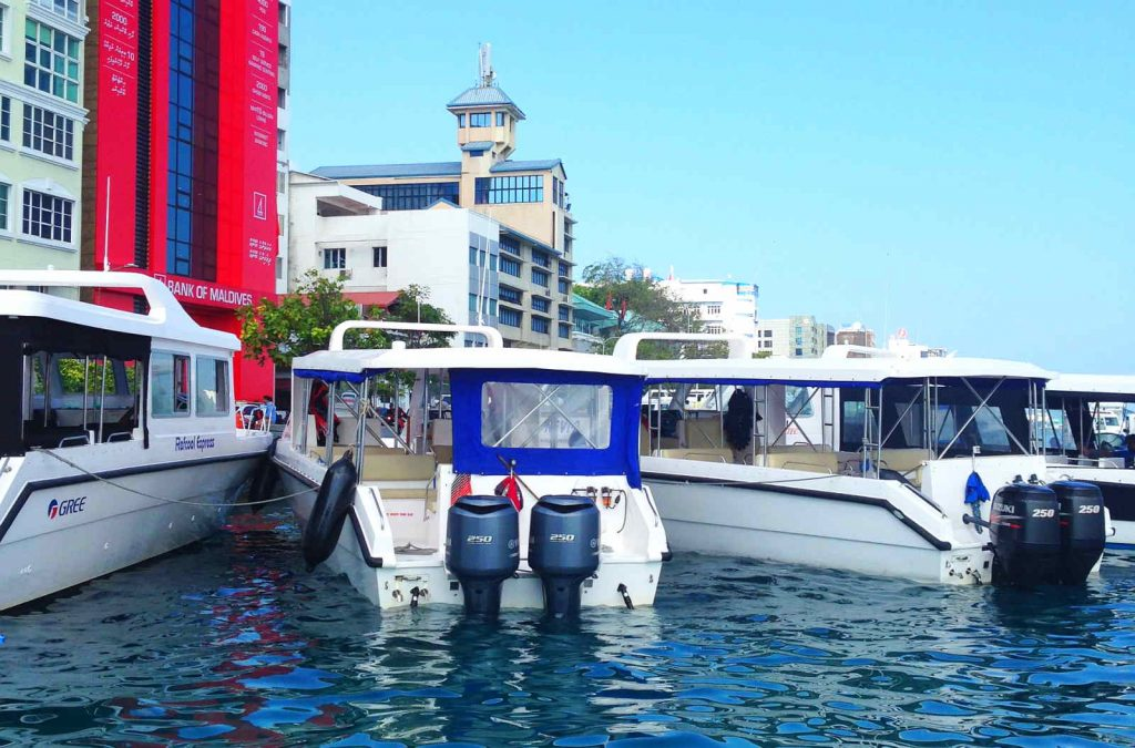 Speedboot Transfer Malediven