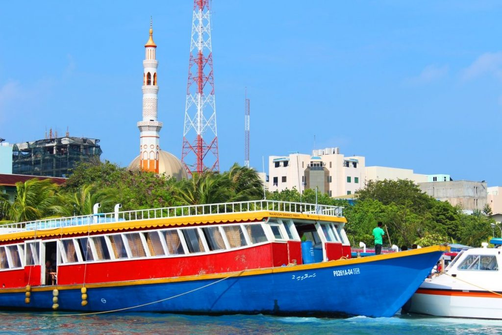 Transfer auf den Malediven