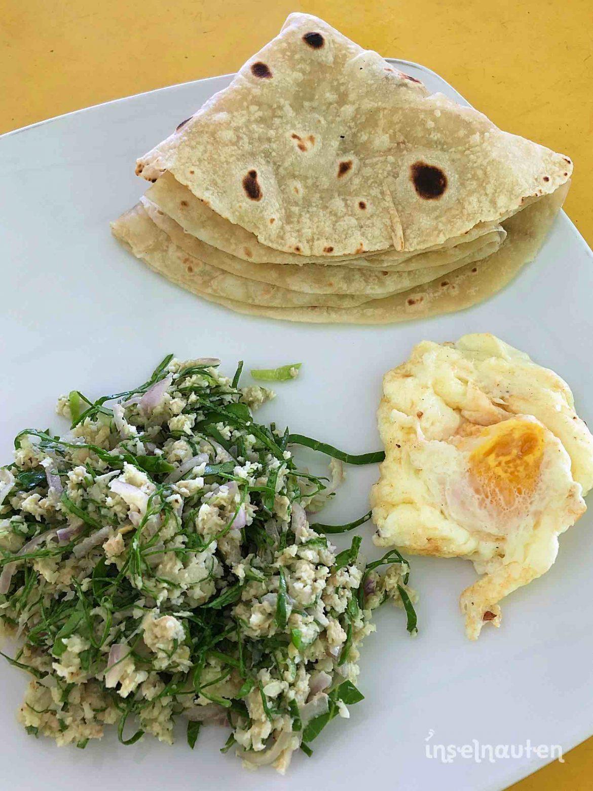 Kopy Fathu Kopyfatu kopi Maldivian breakfast Chapati Maldives