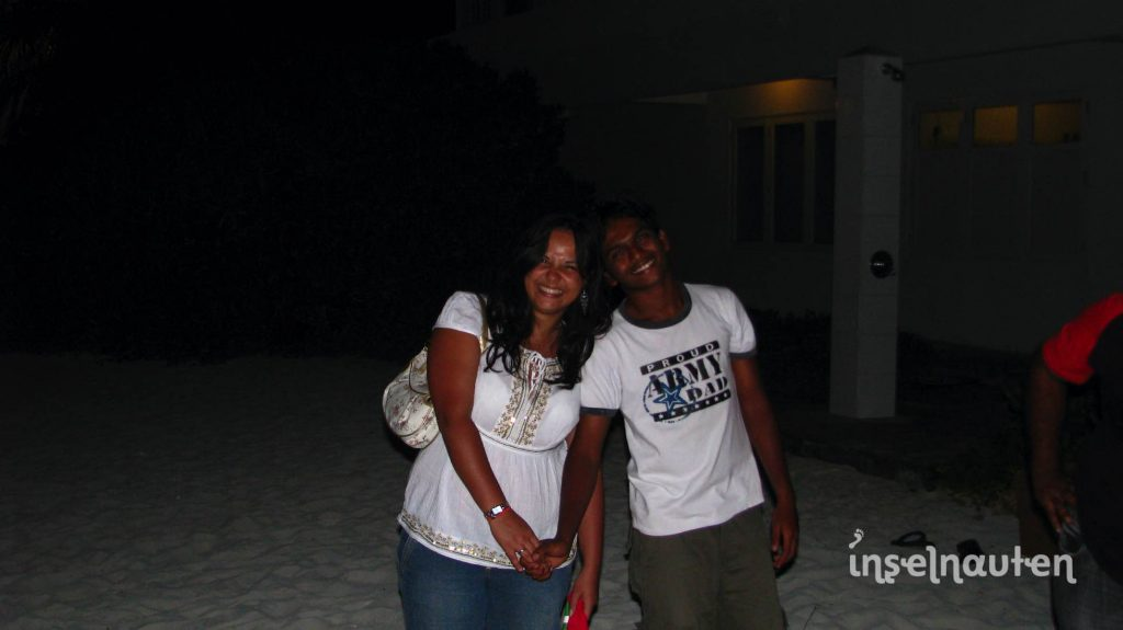 Alte Freunde Malediven