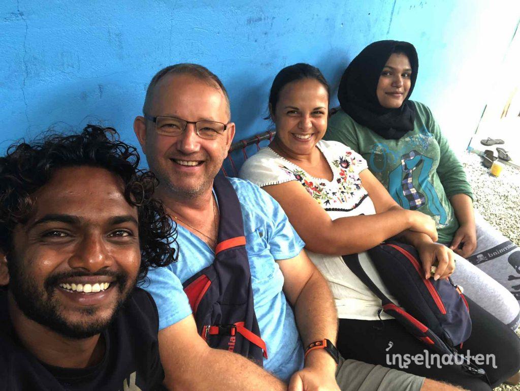 Malediven Freunde