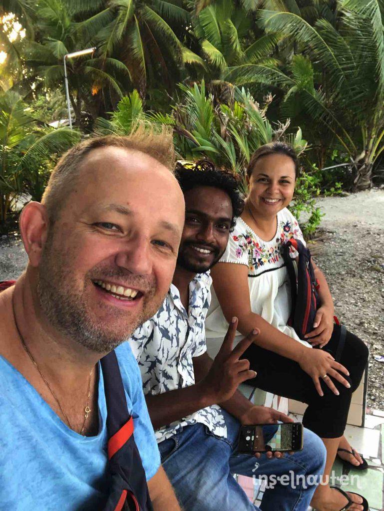 Interview Malediven Tigerhaie auf Fuvahmulah